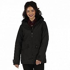 Regatta - Black 'Brienna' waterproof insulated jacket
