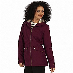Regatta - Purple 'Brienna' waterproof insulated jacket