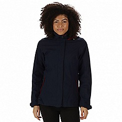 Regatta - Blue 'Calyn' 3-in-1 waterproof jacket