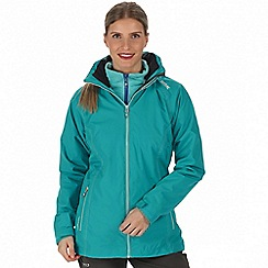 Regatta - Blue 'Premilla' 3-in-1 waterproof jacket