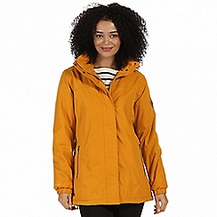 Regatta - Yellow 'Myrtle' waterproof insulated jacket