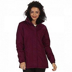 Regatta - Purple 'Myrtle' waterproof insulated jacket