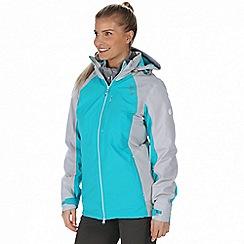 Regatta - Blue 'Carletta' 3-in-1 waterproof jacket