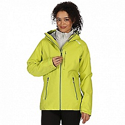 Regatta - Yellow 'Louisiana' 3-in-1 waterproof jacket