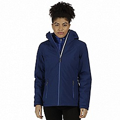 Regatta - Blue 'Wentwood' 3-in-1 waterproof jacket