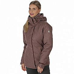 Regatta - Purple 'Highside' waterproof insulated jacket