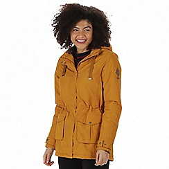 Regatta - Yellow 'Beatriz' waterproof parka jacket