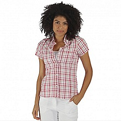 Regatta - Pink Jenna short sleeved shirt