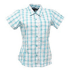 Regatta - Aqua jenna checked shirt