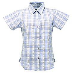 Regatta - Soft purple jenna checked shirt