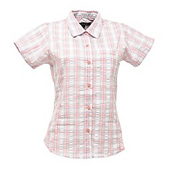Regatta - Pink blossom jenna checked shirt