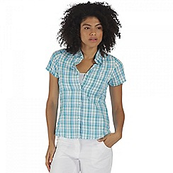 Regatta - Teal Jenna short sleeved shirt