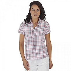 Regatta - Purple Jenna short sleeved shirt