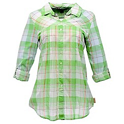 Regatta - Mineral green starbright shirt