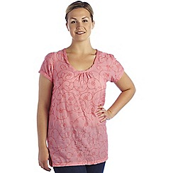 Regatta - Pink blossom meadow tunic