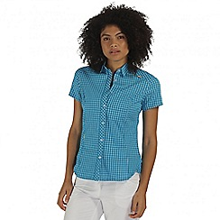 Regatta - Blue Honshu short sleeved shirt