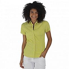 Regatta - Yellow Honshu short sleeved shirt