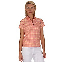 Regatta - Orange mindano short sleeved shirt
