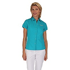 Regatta - Aqua jerbra cotton shirt