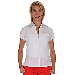 Regatta - White jerbra cotton shirt