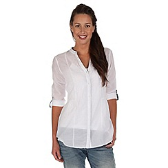 Regatta - White madison smock top