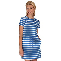 Regatta - Blue harrisa cotton dress