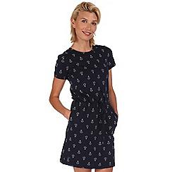 Regatta - Navy harrisa cotton dress