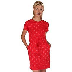 Regatta - Red harrisa cotton dress