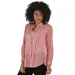 Regatta - Red Mondara shirt