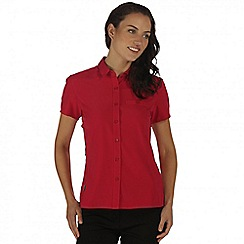 Regatta - Pink Kioga short sleeved shirt