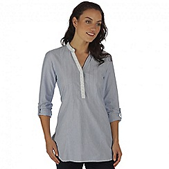 Regatta - Blue magda shirt