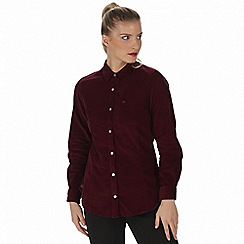 Regatta - Purple 'Maliyah' long sleeved shirt