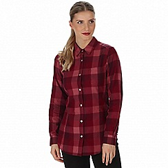 Regatta - Red 'Marcie' checked shirt