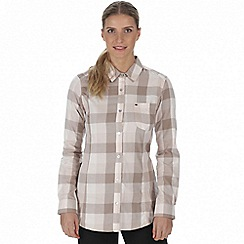 Regatta - Beige 'Marcie' checked shirt