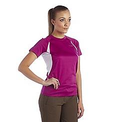 Regatta - Vivid viola womens subsonic t-shirt