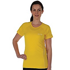 Regatta - Bright yellow presley t-shirt