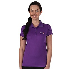 Regatta - Purple womens maverik t shirt