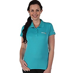 Regatta - Aqua womens maverik t shirt