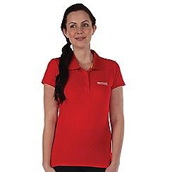 Regatta - Red womens maverik t shirt