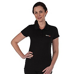 Regatta - Black womens maverik t shirt