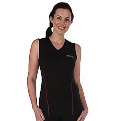Regatta - Black vonda sports vest
