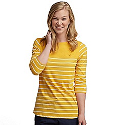 Regatta - Yellow stripe abyssal top