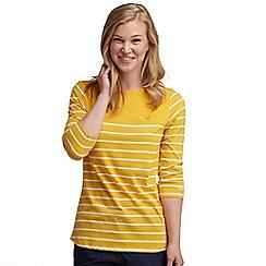 Regatta - Yellow stripe abyssal top