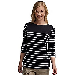 Regatta - Navy stripe abyssal top