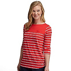 Regatta - Red stripe abyssal top