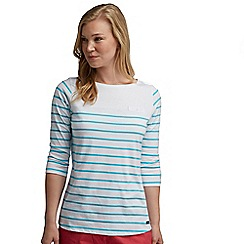Regatta - White stripe abyssal top