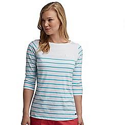 Regatta - White stripe abyssal top