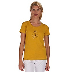Regatta - Yellow Felicia t-shirt
