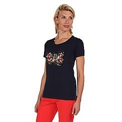 Regatta - Navy felicia t-shirt