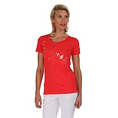 Regatta - Coral blush felicia t-shirt